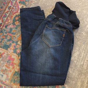 1822 Denim| maternity skinny ankle jeans